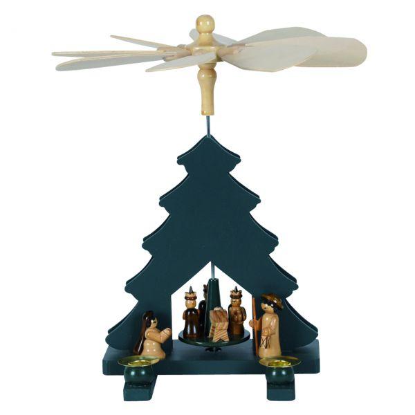 Weihnachts-Pyramide Baum Krippe