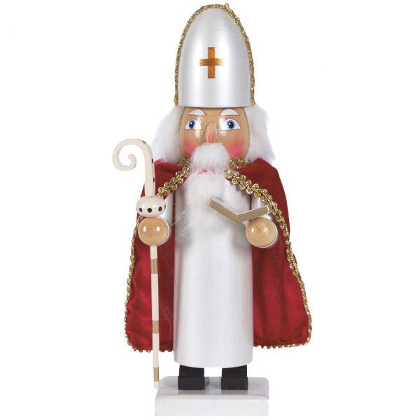 Nussknacker Bischof 25cm, weiß