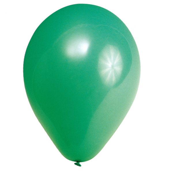 Luftballons, grün