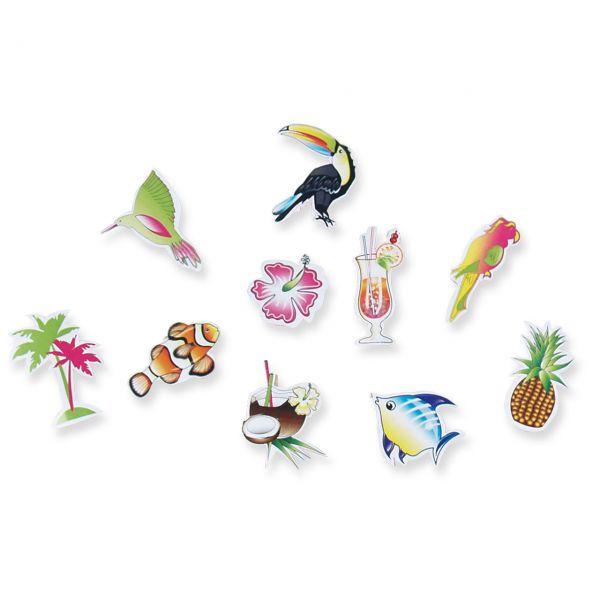 Streudeko Karibik, bunt gemischt
