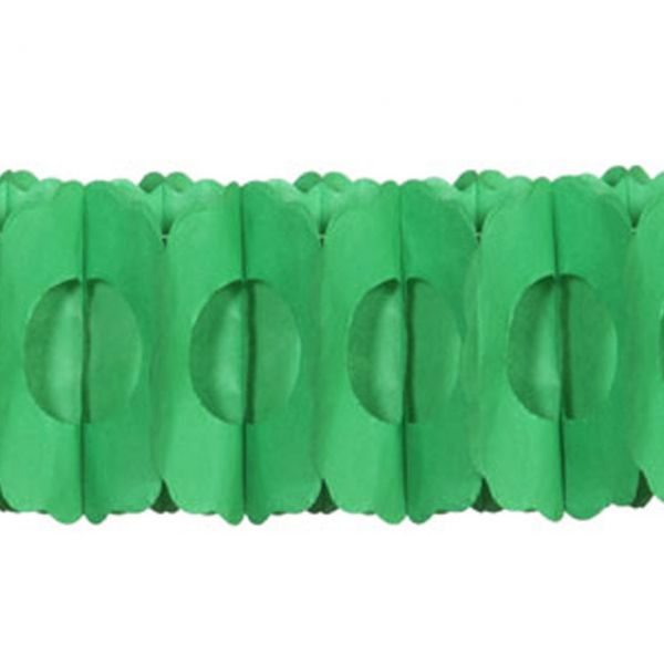 Girlande 3D, grün