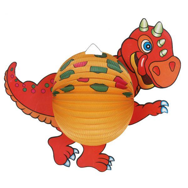 Kinder-Laterne T-Rex, bunt