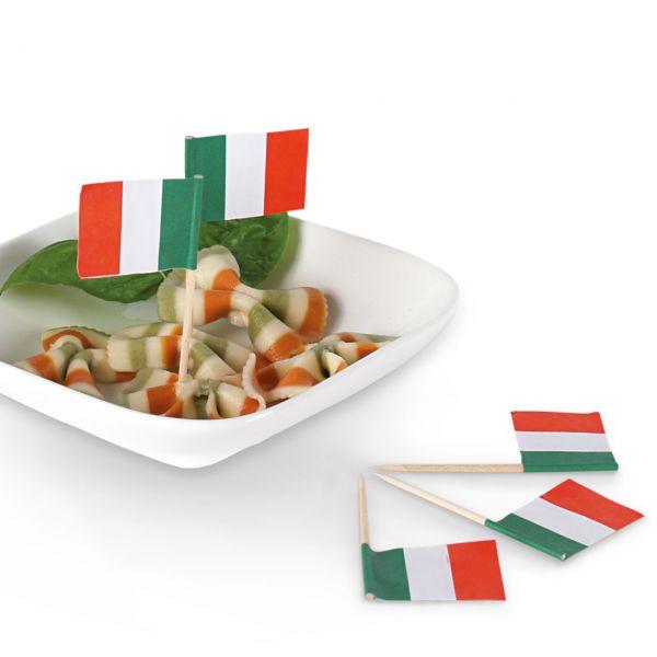 Party-Picker Flagge Italien, grün-weiß-rot