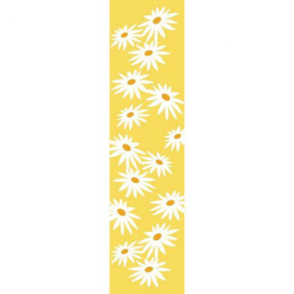 Banner Margerite wetterfest, gelb-weiß