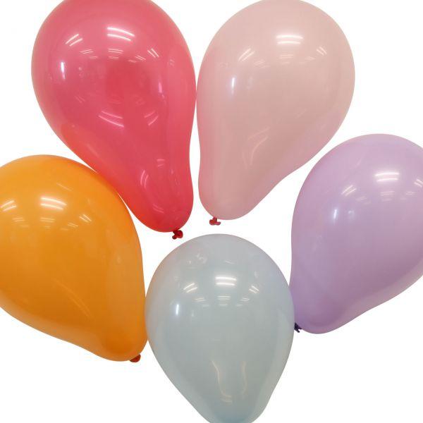 Luftballons mittel, Ø 20 cm, bunte Mischung