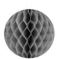 Wabenbälle uni, grau Ø 20 cm