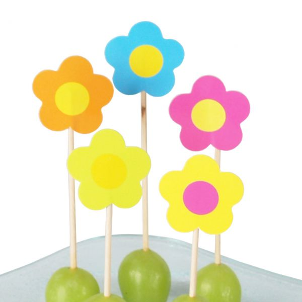 Party-Picker Flower Power, bunt