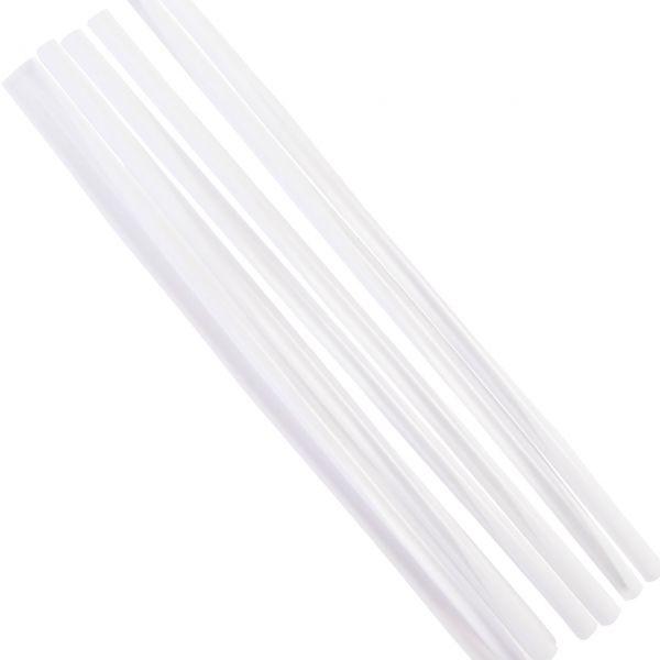 Jumbo-Strohhalme, weiß