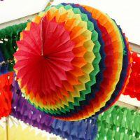 XXL-Maxi Wabenball, Ø 75 cm, regenbogen