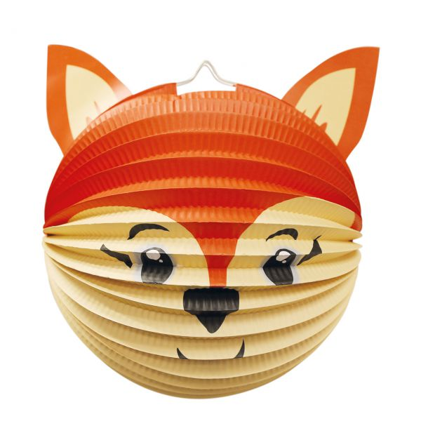 Kinder Laterne Fuchs, orange