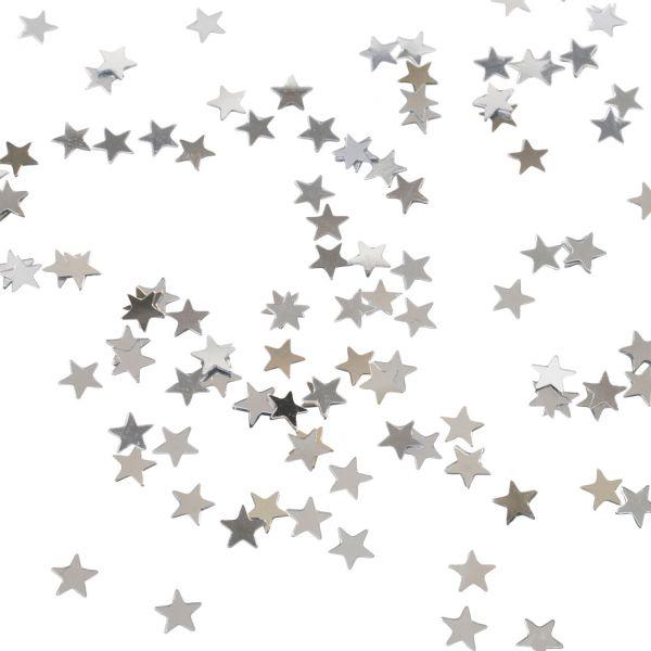 Streudeko Stern, silber