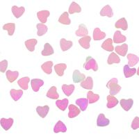 Streudeko Herzen, weiß