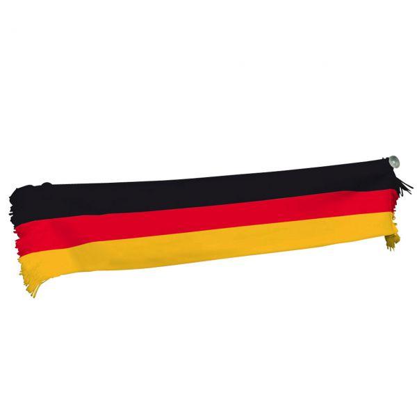 Mini-Schal inkl. Saugnäpfen Deutschland, schwarz-rot-gold