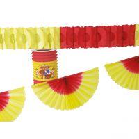 Deko-Set Spanien, rot-gelb