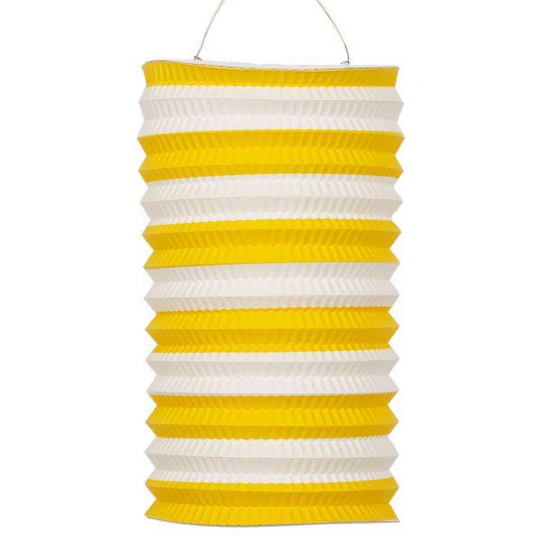 Zuglaterne, gelb-weiß