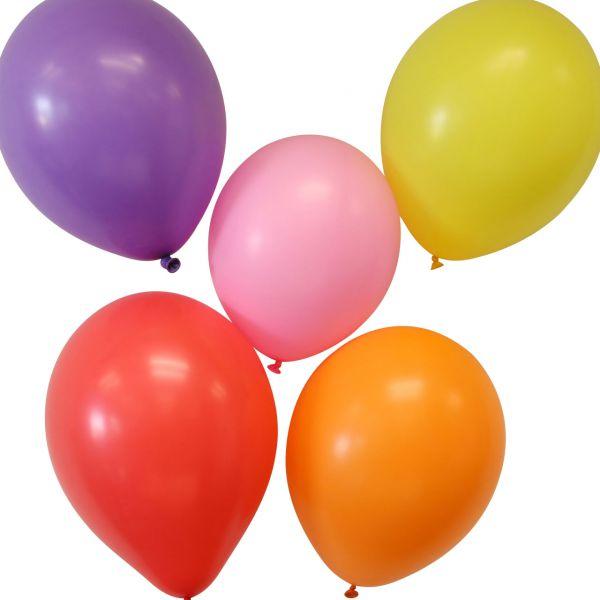 Luftballons, x-groß, Ø: 35 cm, bunte Mischung