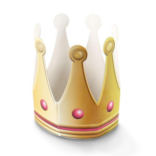 Krone Prinzessin, gold