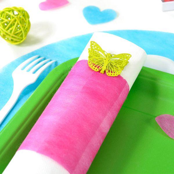 Tisch- und Schleifenband, B: 10cm, pink