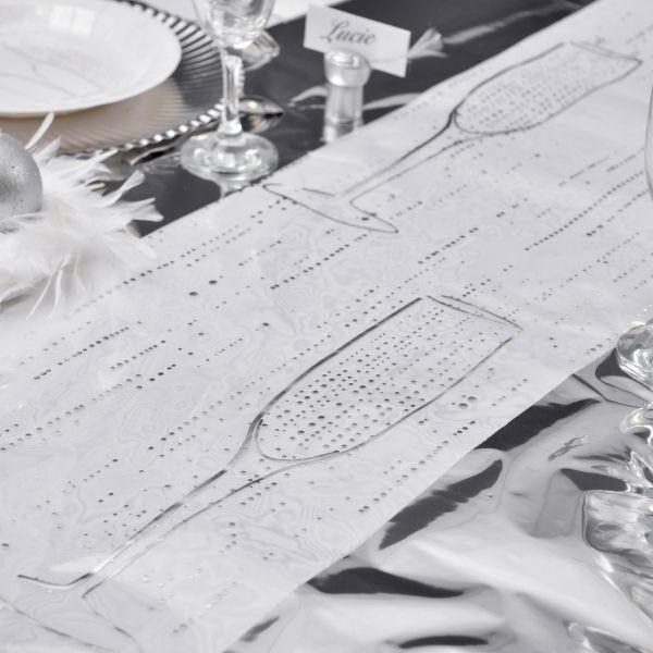 Tischläufer Champagne, B: 28cm