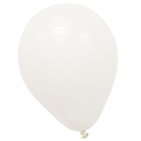 Luftballons, weiß