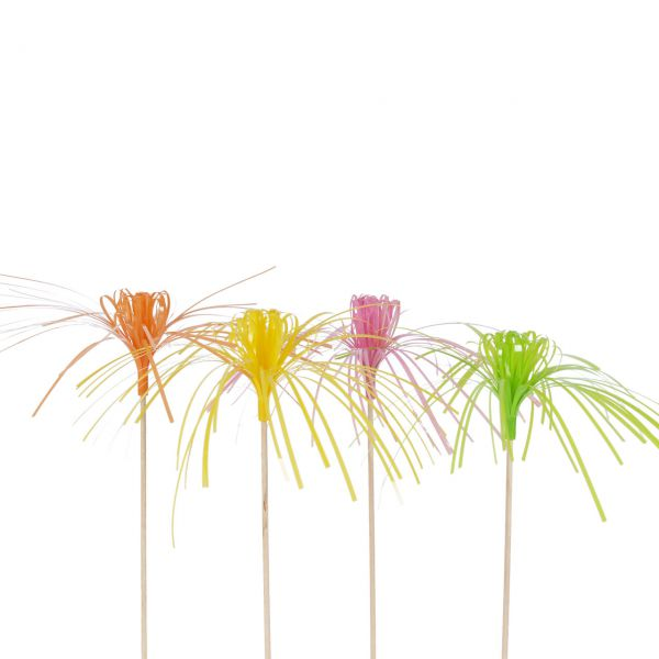 Party-Picker Blume & Palme, neon