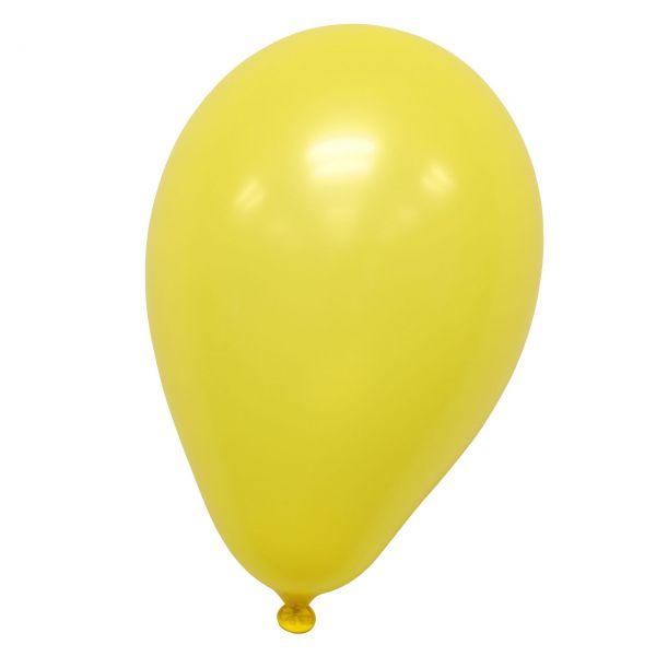 Luftballons, gelb