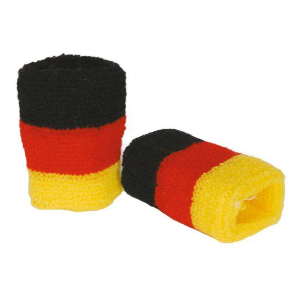 Schweißbänder Deutschland, schwarz-rot-gold