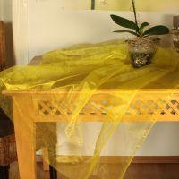 Organza, gelb 36 cm