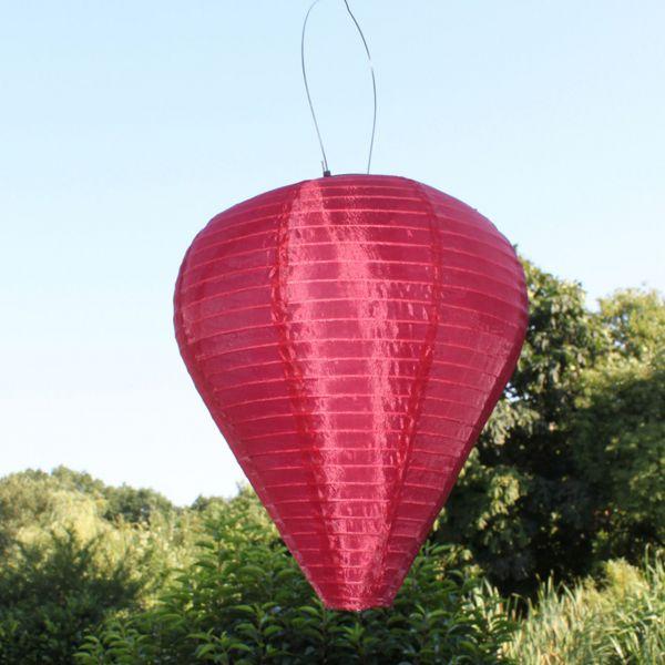 solar led laterne wetterfest ballon bordeaux. Black Bedroom Furniture Sets. Home Design Ideas