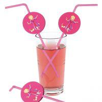 Knick-Strohhalm Prinzessin, pink