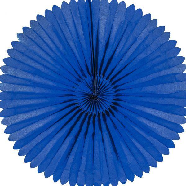 Maxi Deko-Fächer Ø 120 cm, blau