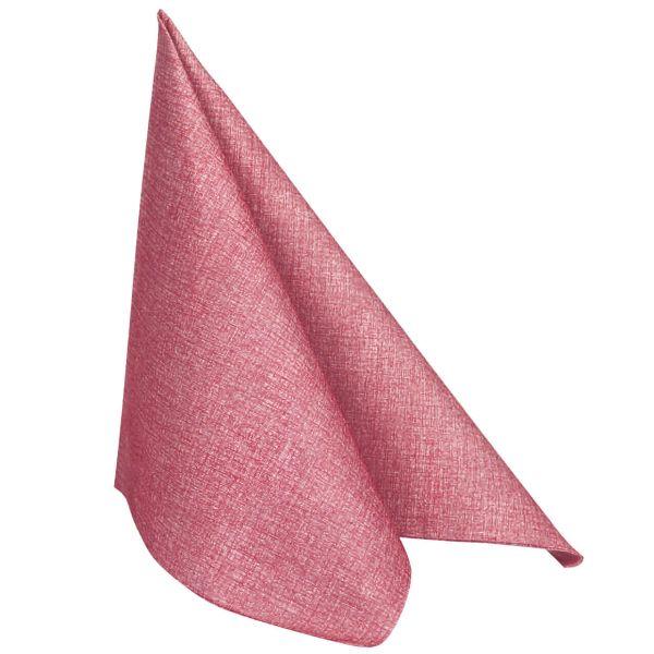 Einweg Serviette Baumwolle, Classic rosé