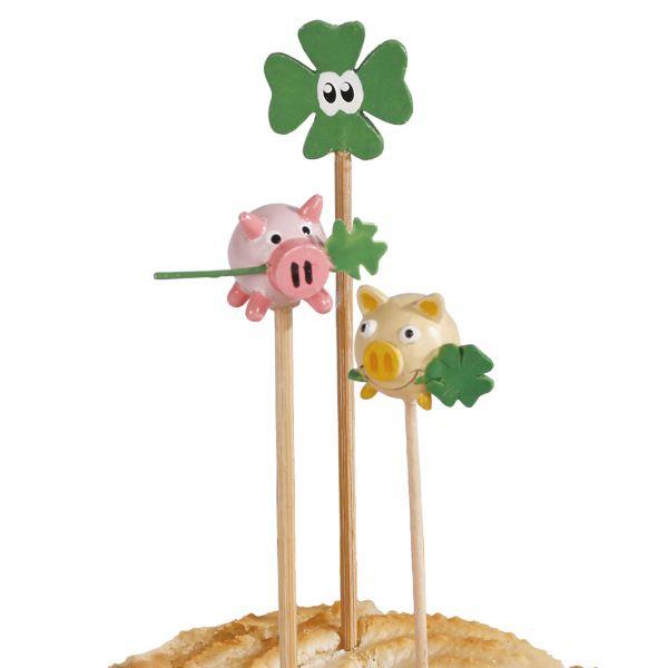 Party-Picker Glücksbringer Schweinchen & Klee