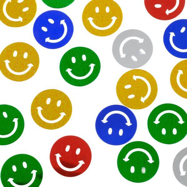 Streudeko Smiley, bunt
