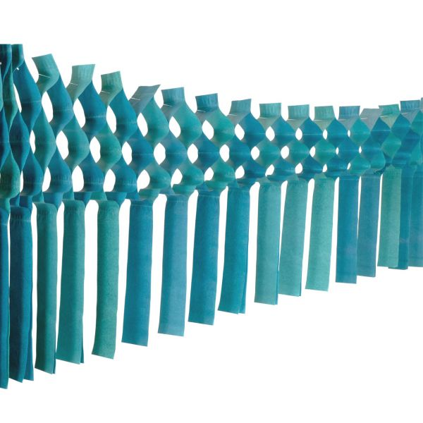 Maxi Fransengirlande, 10m, grün