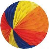 Maxi Wabenball, Ø 51 cm, wetterfester Vlies, regenbogen