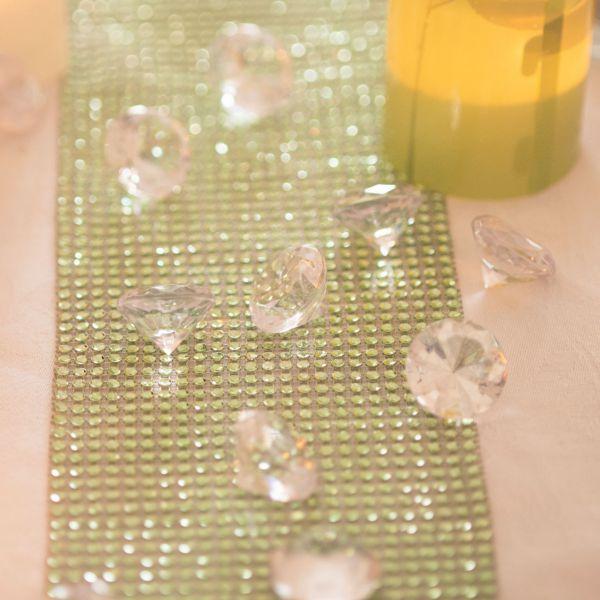 Kristall Deko diamanten ø 3cm kristall klar