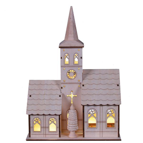 Kirche LED-Beleuchtung, natur
