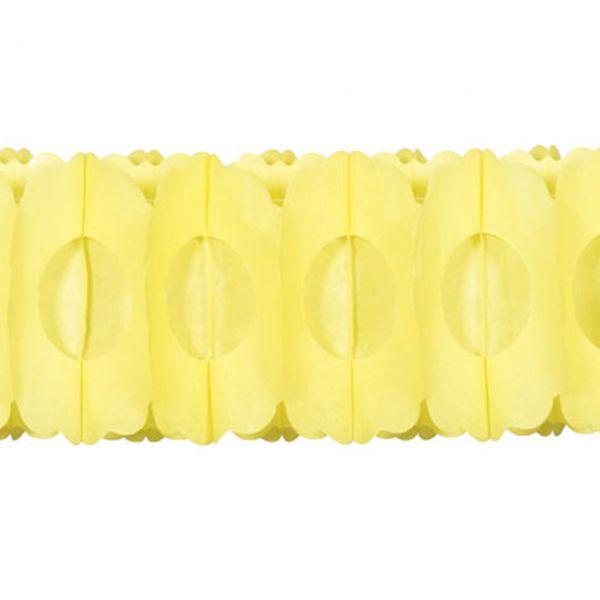 Girlande 3D, gelb