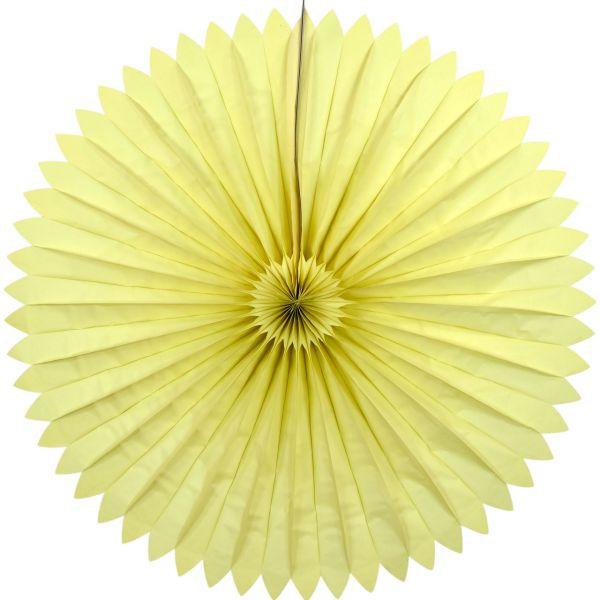 Maxi Deko-Fächer Ø 120 cm, gelb