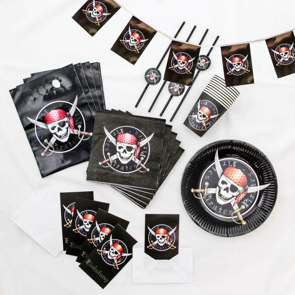 Kinder Geburtstagsset Pirat