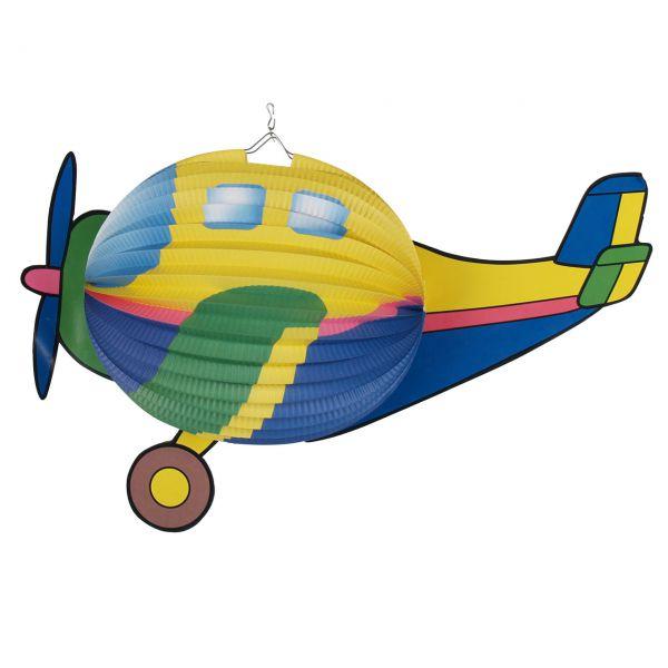 Kinder-Laterne Flugzeug, bunt