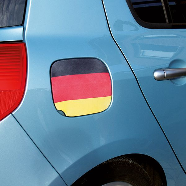 Überzug für den Tankdeckel Deutschland, schwarz-rot-gold