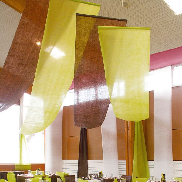 Partyhimmel, B: 80cm x 12m, grün