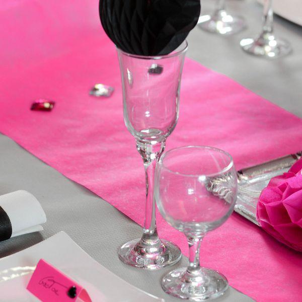 Tischläufer B: 30cm x 10m, pink