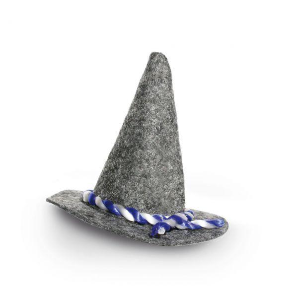 Mini-Filzhut fürs Oktoberfest mit Haar-Clip