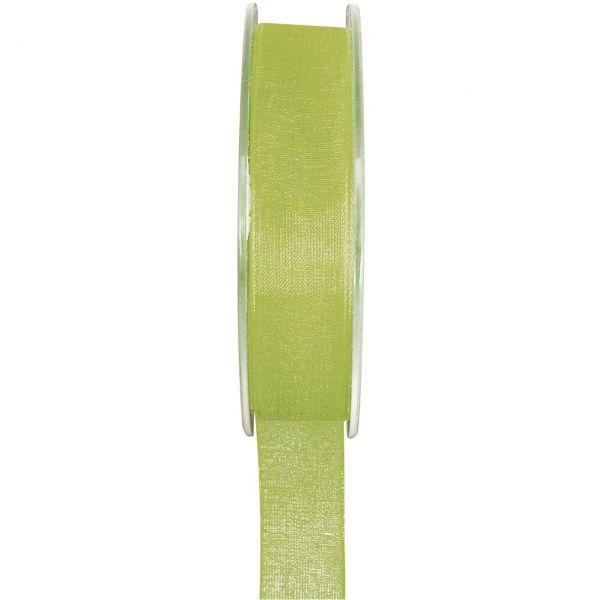 Organzaband 6mm, grün