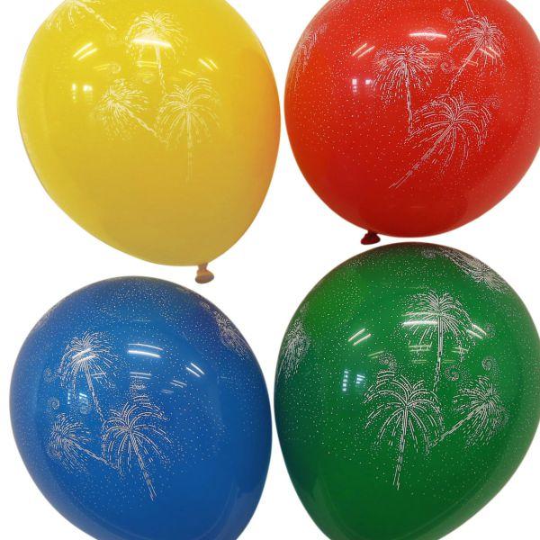 Luftballons Feuerwerk kristall, bunte Mischung