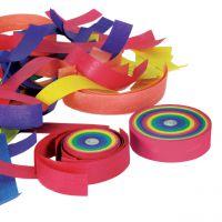 Konfetti Frisbee, Regenbogen 2 Stück