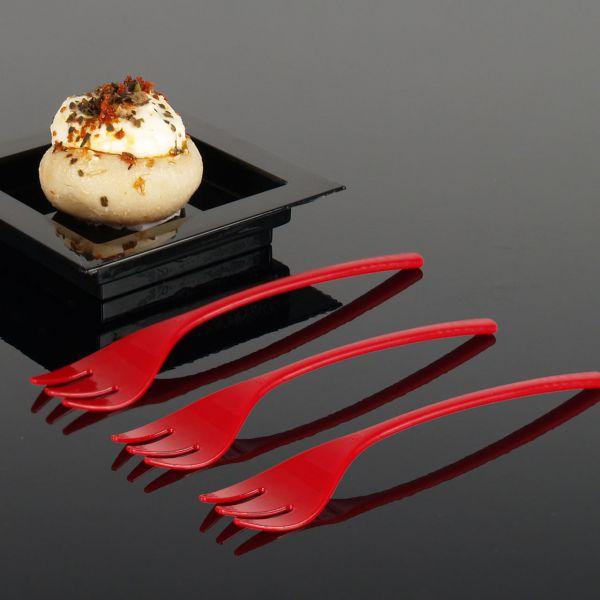 Fingerfood Buffet-Minigabel, rot